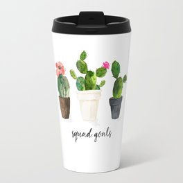 Squad Goals: Cactus Gang Travel Mug