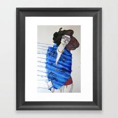 Fish Pajamas Framed Art Print