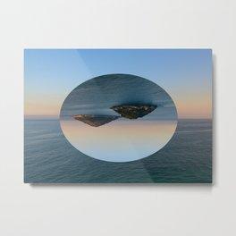 Slice of Island Metal Print