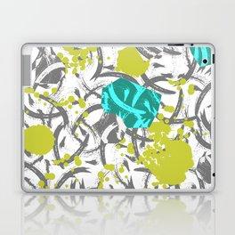Clairlea - botanical art print hipster indoor house plants cheese plant fern nature urban retro bro Laptop & iPad Skin