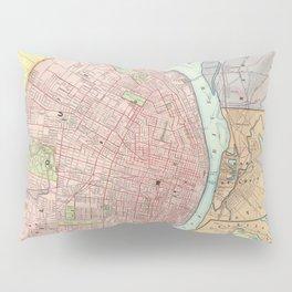 Vintage Map of St Louis MO (1897) Pillow Sham