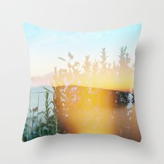 From 3pm to the Sunset Throw Pillow