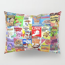 Cereal Box Montage Pillow Sham