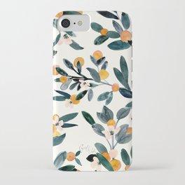 Clementine Sprigs iPhone Case