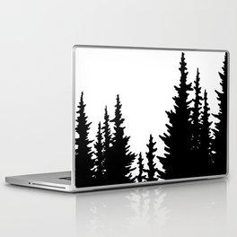 Dense Forest Tree Line Laptop & iPad Skin