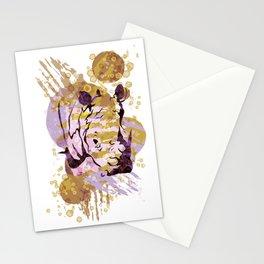 Enlightened Rhinoceros Stationery Cards