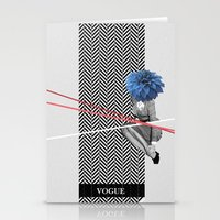 vogue Stationery Cards featuring Vogue by Frank Moth