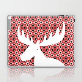 Iconic Canadian Moose on Islamic Motif Laptop & iPad Skin