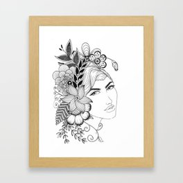 Garden Beauty Framed Art Print