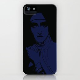 Saint Teresa Print iPhone Case