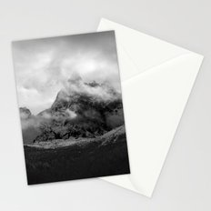 French Alps, Chamonix, France. Stationery Cards