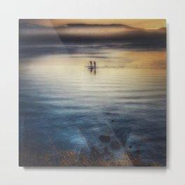 Standup Paddle board  Couple Metal Print