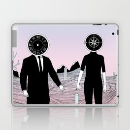 Time and Journey (To a Place I've Never Been Before) Laptop & iPad Skin