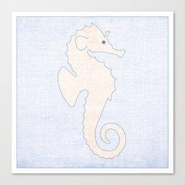 Seahorse - Under the Sea Series Nursey Print Canvas Print