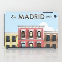 madrid iPad Cases featuring Madrid by Sara Enriquez