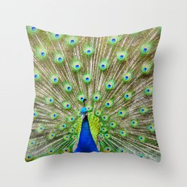 Let me see your Peacock Throw Pillow