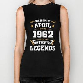 April 1962 56 the birth of Legends Biker Tank