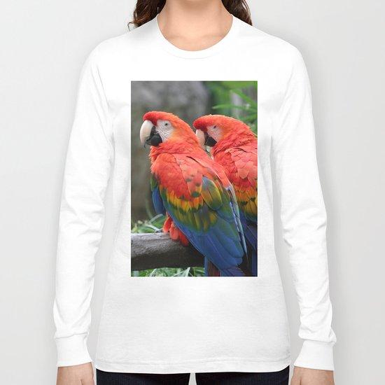 Scarlet Macaw Long Sleeve T-shirt