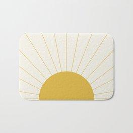 Sunrise / Sunset Minimalism Bath Mat