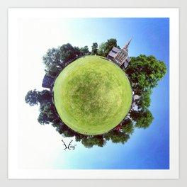 PARK PLANET PROJECT CHISWICK PARK #2 LONDON Art Print