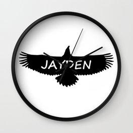 Jayden Eagle Wall Clock