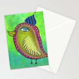 Quirky Bird 4 Stationery Cards