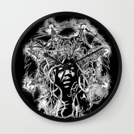Obey the Riff  Mark Day Wall Clock