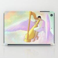 castiel iPad Cases featuring Castiel by Jennilah