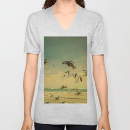 Flight Pattern Unisex V-Neck