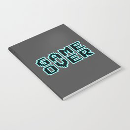 GAME OVER (blue) Notebook