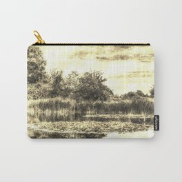 Liliy Pond Vintage Carry-All Pouch