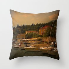 Abendstunden  Throw Pillow