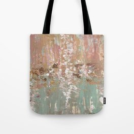 Spring Poetry - Abstract Art Tote Bag