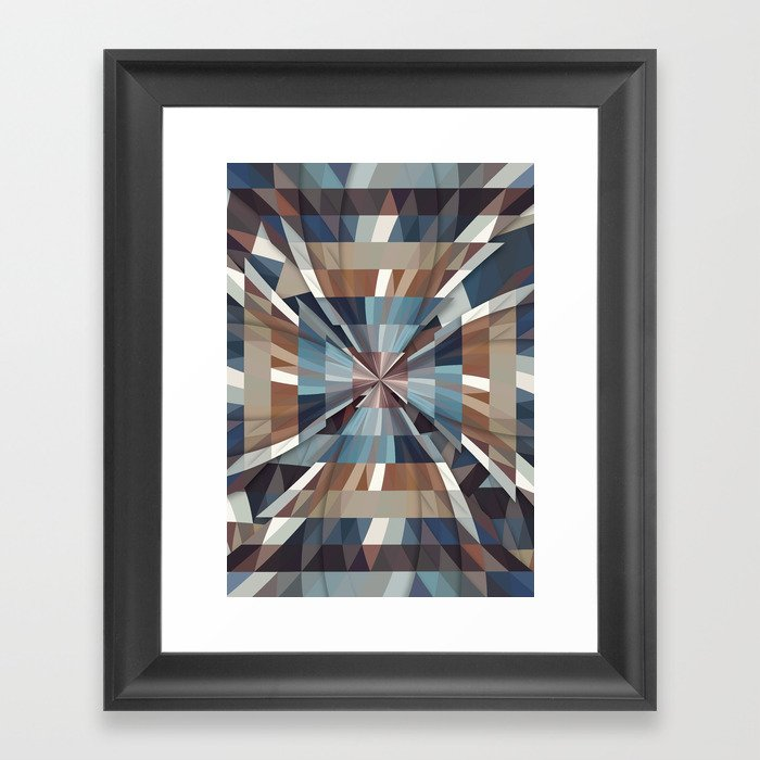 All This Time Framed Art Print