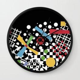 Ticker Tape Geometric Wall Clock