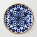 Boho Blue Medallion by ninamay
