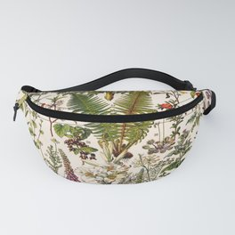Adolphe Millot - Plantes Medicinales B - French vintage poster Fanny Pack