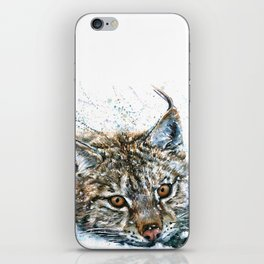 Lynx Wild and Free iPhone Skin
