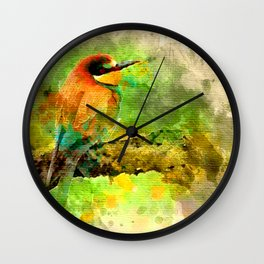 Waterbird Wall Clock