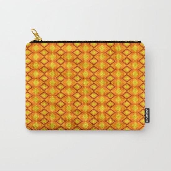 Diamonds II - orange/yellow Carry-All Pouch