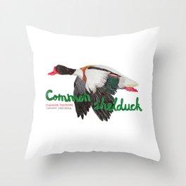 Common shelduck Throw Pillow