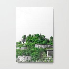 Portland Hills Metal Print