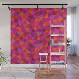 Prismatic Pattern Wall Mural