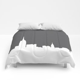 New York Skyline Comforters