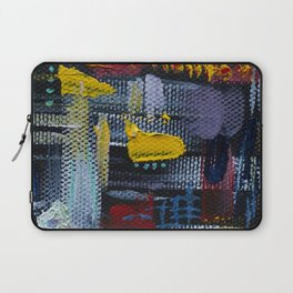 Abstract with Contrast Laptop Sleeve