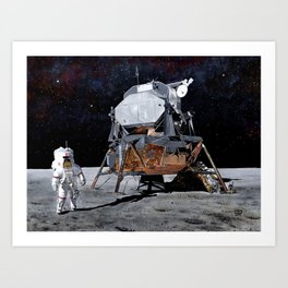 Orion is finally here Art Print