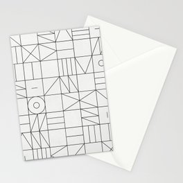 My Favorite Geometric Patterns No.1 - White Stationery Cards