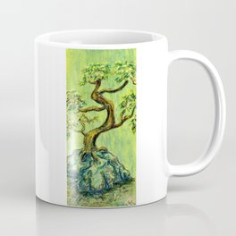 Teal Bonsai Coffee Mug