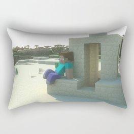 M I N E C R A F T Steve's desert Rectangular Pillow