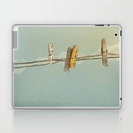 Vintage Clothespin Laptop & iPad Skin